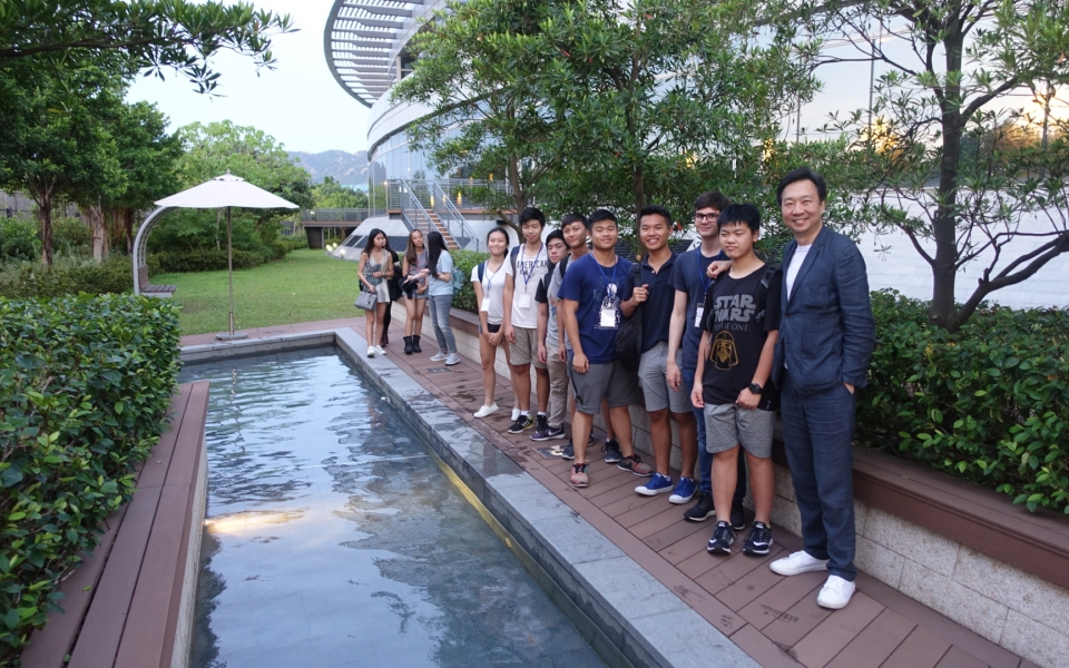 Visit to T-Park, Hong Kongs sludge to energy power station with participants of Cybertecture Academy 2017
