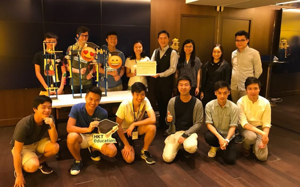 Cybertecture Academy 2017 visits with HKT Education